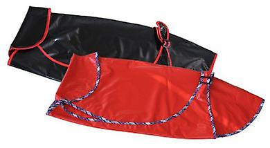 Arppe Waterproof Red and Black Greyhound for Dog (Dogs , Dog Clothes , Raincoats)