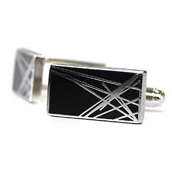 Tyler and Tyler Diffusion Cufflinks - Black