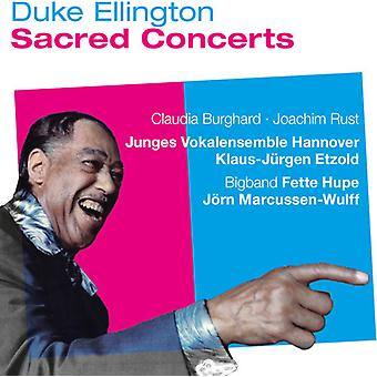 Ellington, hertug / Burghard, Caludia - Ellington: hellige koncerter [CD] USA import