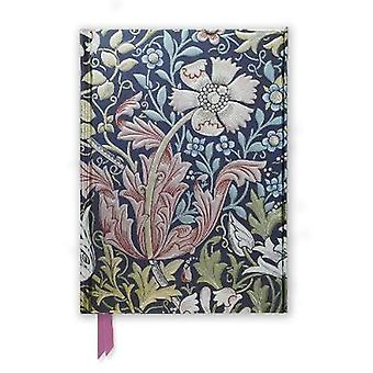 William Morris Compton Foiled Journal by Flame Tree