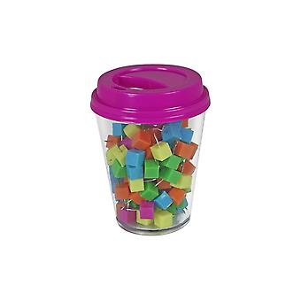 Coffee Cup Storage With Push Pins 120/Pkg-Assorted