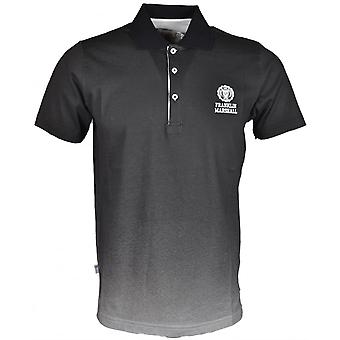 Franklin & Marshall Mf142 Plain Faded Black Polo