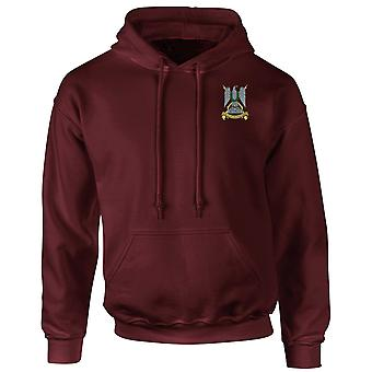 The Royal Scots Dragoon Guards Embroidered Logo - Official British Army Hoodie
