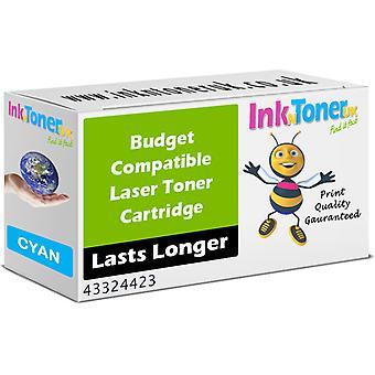 Cartuccia Toner ciano compatibile Oki 43324423 (43324423)