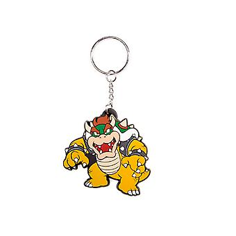 Nintendo Keyring Keychain Bowser Official New Rubber
