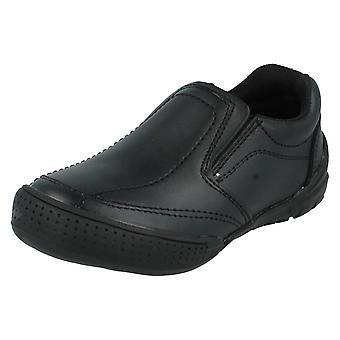 Boys JCDees Slip On School Shoes