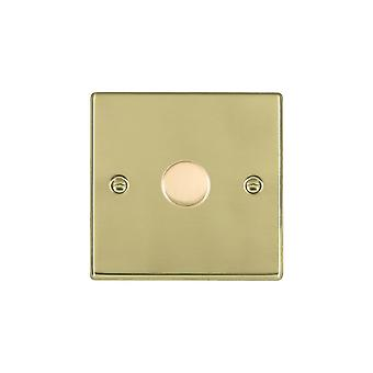 Hamilton Litestat Hartland Polished Brass 1g 200VA 2 Way Dimmer PB