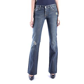7 for all mankind ladies MCBI004010O Blau cotton of jeans