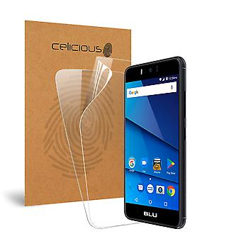 Celicious Vivid BLU R2 Plus Invisible Screen Protector [Pack of 2]