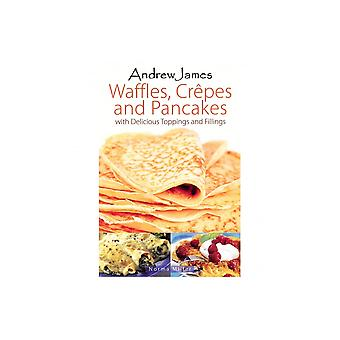 Andrew James Waffle, Crepe And Recipe Book