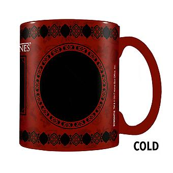 Game of Thrones Mug Lannister House Crest Heat Changing new Official Boxed