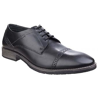 Hush Puppies Craig Luganda Mens Smart Casual Derby Leather Shoes