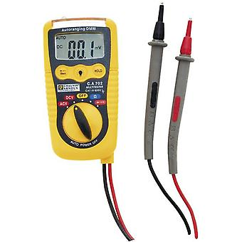 Handheld multimeter Chauvin Arnoux C.A 702 Calibrated to: Manufacturer's standards (no certificate)