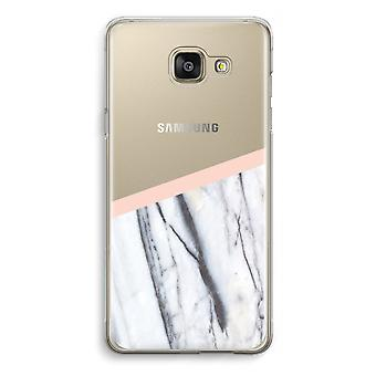 Samsung Galaxy A5 (2016) Transparent Case (Soft) - A touch of peach
