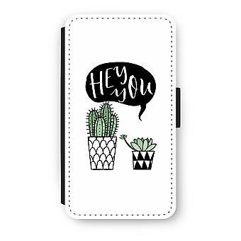 Samsung Galaxy A3 (2017) Flip Case - Hei du kaktus