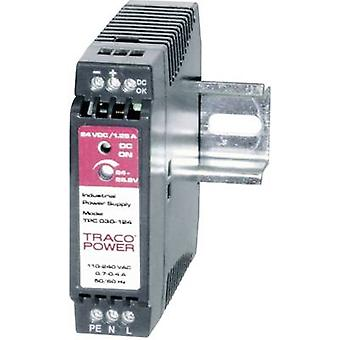 Rail mounted PSU (DIN) TracoPower TPC 030-112 12 Vdc 2.2 A 26 W 1 x