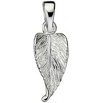 Beginnings Leaf Drop Pendant - Silver