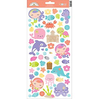 Under The Sea Cardstock Stickers 6