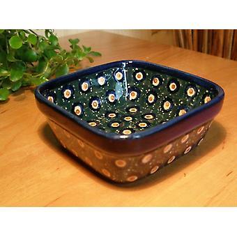 Vierkant Bowl 9,5 x 9,5 cm, hoogte 4,5 cm, traditie 1 BSN 0853