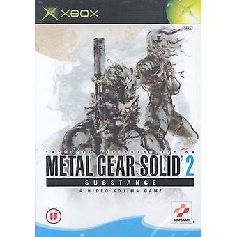 Metal Gear Solid 2 ämne (Xbox)