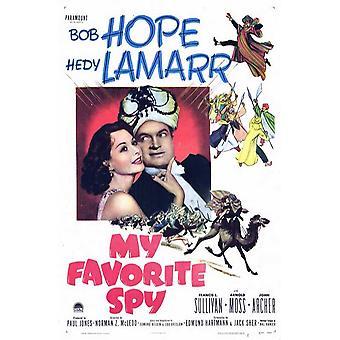 My Favorite Spy Movie Poster (11 x 17)