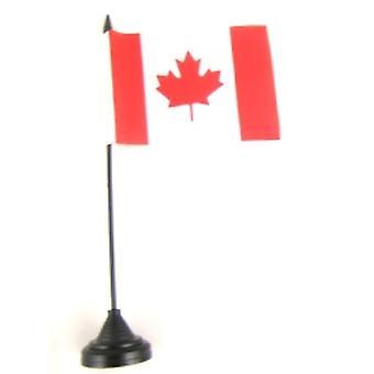 Kanada-Tischfahne mit Base und Stock