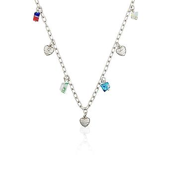 Orphelia Silver 925  Necklace 42 Cm With Colors  ZK-2595