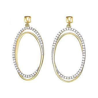 ESPRIT collection ladies earrings gold Antheia ELER92944B000
