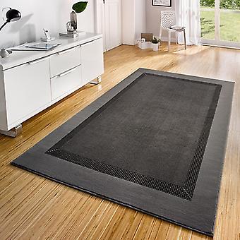 Velour tappeto nastro grigio di design
