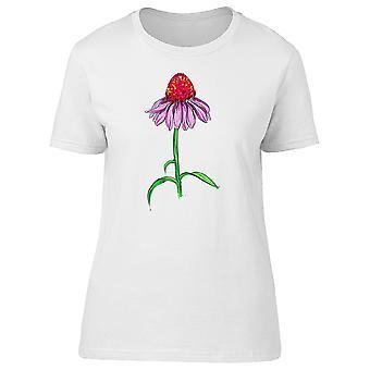 Zeichnung eines Echinacea Tee Frauen-Bild von Shutterstock 0d17f4ece3