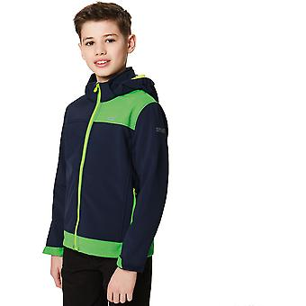 Regatta Boys & Girls Astrox Softshell Water Repellent Walking Jacket