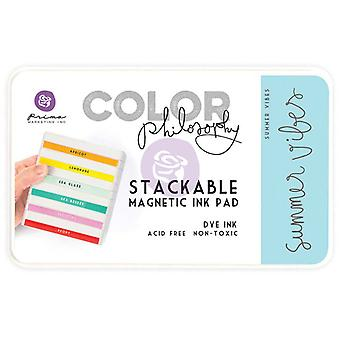 Prima Marketing Color Philosophy Dye Ink Pad-Summer Vibes