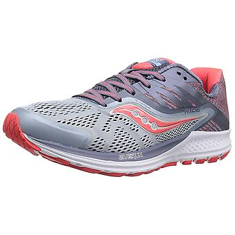 Saucony Womens Ride 10 Fabric Low Top Lace Up Running Sneaker