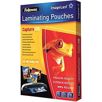 Laminate sheet Fellowes A3 125 micron glossy 100 pc(s)