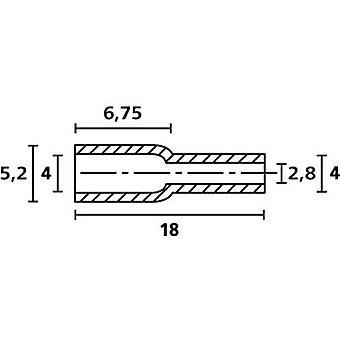 HellermannTyton OP4828 PE NA 2000 protectora casquillo Terminal Ø (máx.) 4 mm polietileno (PE) transparente 1 PC