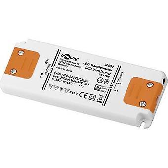 Goobay SET CC 350-12 LED LED driver Constant current 12 W 0.35 A 0 - 34 Vdc