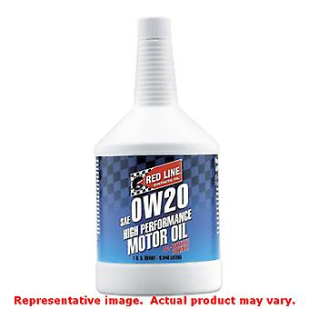 Red Line Synthetic Motor Oil 11804 Fits:UNIVERSAL 0 - 0 NON APPLICATION SPECIFI