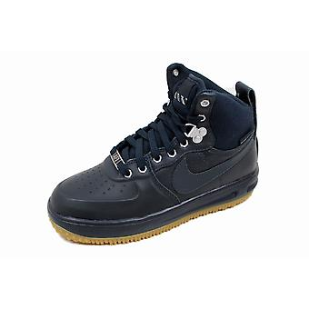 Nike Lunar Force 1 Sneakerboot GS Dark Obsidian 706803-401 Grade-School