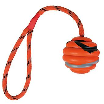 Trixie Wavy Ball on a Rope Natural Rubber (Dogs , Toys & Sport , Balls)