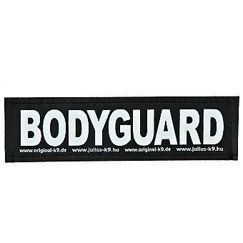 Julius K9 Velcro Aufkleber Bodyguard