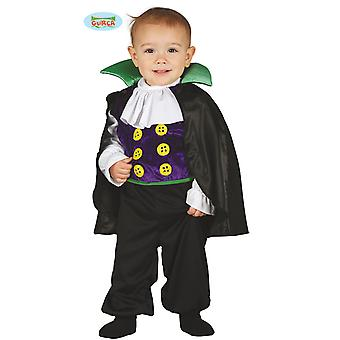 Baby vampire with cloak costume for Kids Carnival Carnival Halloween Count Dracula junior