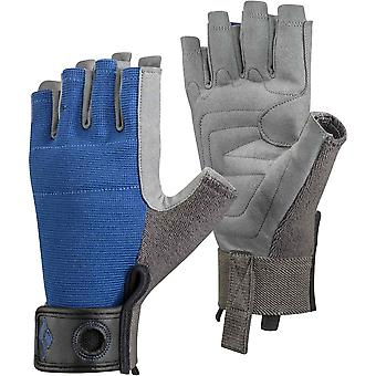 Black Diamond Crag halbe Finger-Handschuh - Kobalt