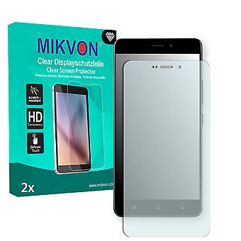 Medion Life X5520 Screen Protector - Mikvon Clear (Retail Package with accessories) (intentionally smaller than the display due to its curved surface)