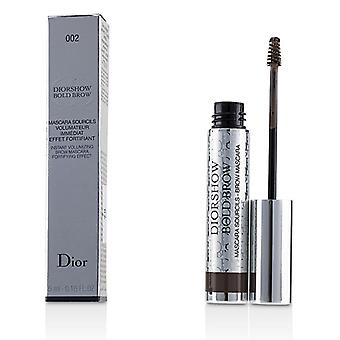 Christian Dior Diorshow Bold Brow Instant Volumizing Brow Mascara - # 002 Dark - 5ml/0.16oz