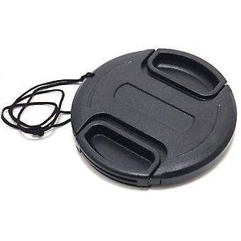 Dot.Foto 46mm Snap On Lens Cap with string / leash for JVC GC-PX10, GZ-GX1, GZ-HD3, GZ-HD7, GZ-HM1, GZ-HM400, GZ-MG555, GZ-MG575