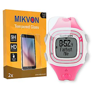 Garmin Forerunner 10 S Screen Protector - Mikvon flexible Tempered Glass 9H (Retail Package with accessories)