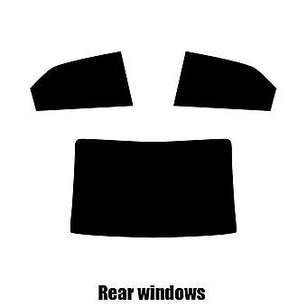 Pre corte tintado - Forte de Kia 4 puertas Saloon - 2009 - 2016 windows posterior