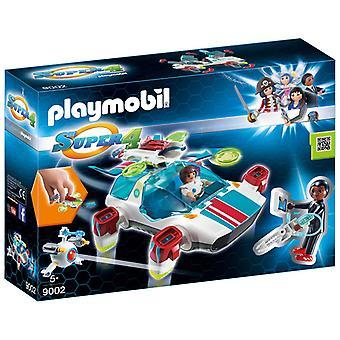 Playmobil 9002 FulguriX met Gene