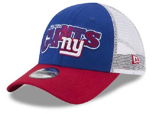 New York Giants NFL uuden aikakauden 9Forty nuorten rekkakuski Snapback hattu