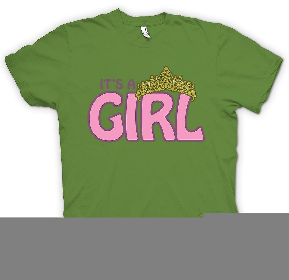 Mens T-shirt - it�s a Girl - Baby Princess